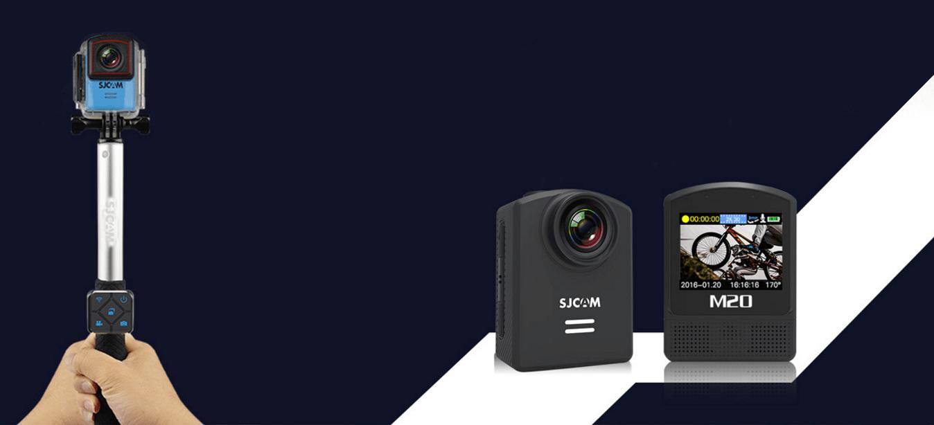 SJCAM M20 Selfie Çubuğu Desteği